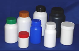 Plastic Tablet Containers